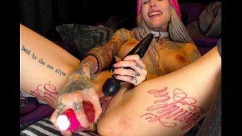 tatto lady jism and milky-supah-steamy