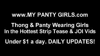 i put on a sensational pair of undies.