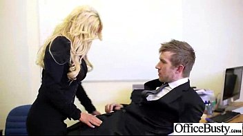 firm fuck-fest with phat-boobed tart office employee doll.