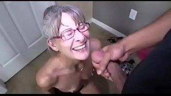 mature guzzles spunk comp
