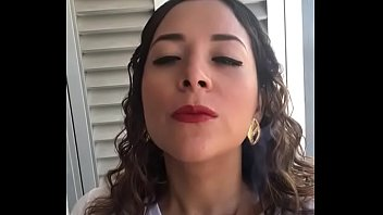 brazilian supah-bitch marcela smoking crimson-hot ciggie