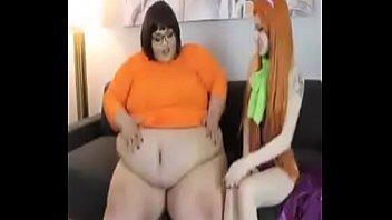 plus-size phat ass milky girl scooby doo dancing latinas