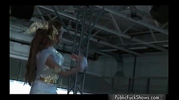 beautiful stripper breezy luvs demonstrating her