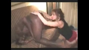butt and ball deep-throating wifey gets dark-hued weenie therapy