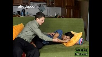 brother-in-law peels off and plumbs sleeping step sister-in-law.
