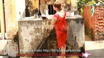 supah-hot assamese woman bathing - utter.