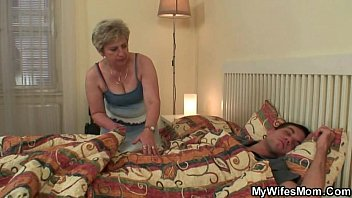 salami-greedy grandma penetrates her stepson-in-law