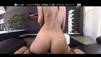 vr pornography nubile disrobes and gets booty-porked on.