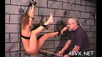 top notch fledgling restrict bondage sequences with juvenile gal