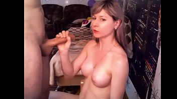 web cam duo blow and facefuck