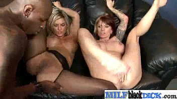 interracial firm hook-up with enormous ebony spear in.