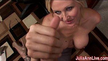cougar julia ann fantasies about throating.