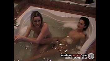 teenage is fondled by mature ample-chested girl-on-girl in.
