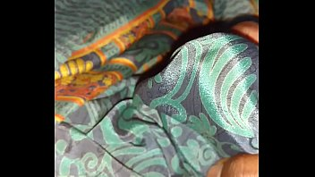 mastrubating with babhis satin saree