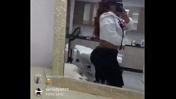 instagram live nip slip 2