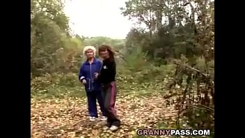 grandma sapphic love in the forest