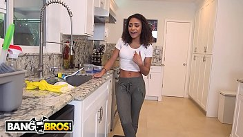 bangbros - youthfull teenager latina maid nicole bexley.