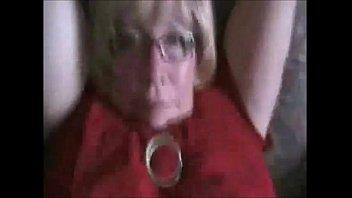 sizzling grandmother gets inward jizz blast from junior.