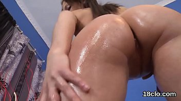 glamour female is broad open sugary-sweet puss in.