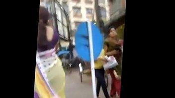 indian saree backside