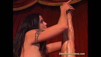 monster faux-cock deep inwards her raw.