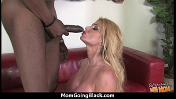 mind-blowing mummy gets a cream colored facial cumshot.