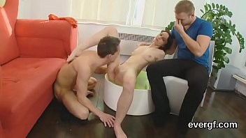 bankrupt dude lets playful homie to pound his.