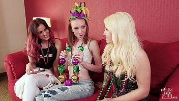 women gone mischievous - youthful katy gets rocked.