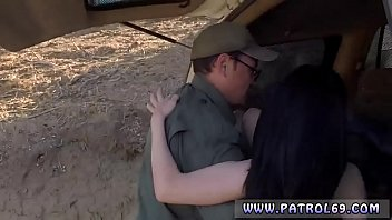 cop strapon stud russian inexperienced takes it like.