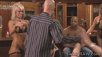 nasty soiree in the swingers house makes couples.
