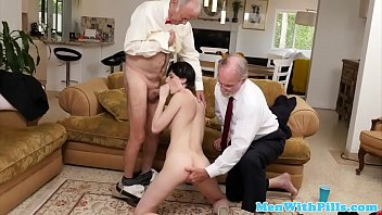 inexperienced bj's before buttfuck in senior vs youthful duo
