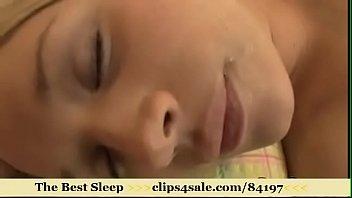 sleep slink - heather starlet sleeping.
