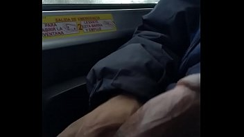 manstick out on the bus