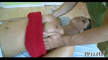 firm dinky during rubdown