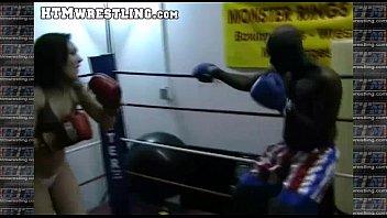 boxing sinn sage combat fetish - ginormous bootie.