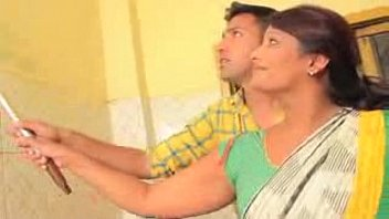 youthful boy caught desi aunty in kitchen  low