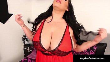 humungous breasted latina angelina castro masturbates amp_ deep.