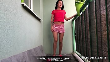 lexidona - balcony urinate - home.
