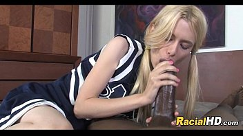 supah nice ash-blonde teenage cheerleader inhales a immense cumbot