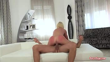 kinky blond ravaged by rocco