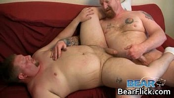 tatted homosexual teddy having hookup on.