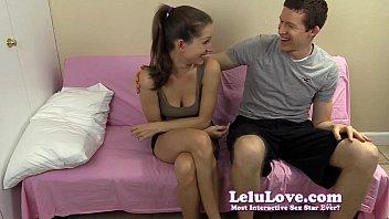 lelu love-first-ever meeting cuni sucky-sucky cum.
