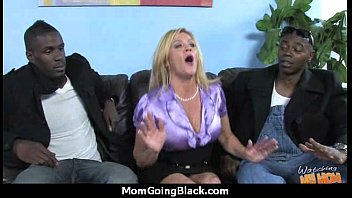 big-chested mother in fledgling interracial flick.
