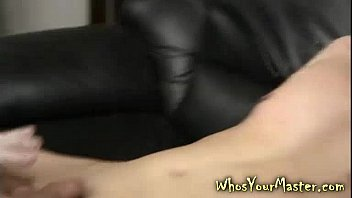 dominat wifey strapon pokes roped boy