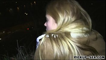 first-ever-timer blonde eurobabe chrissy fox boned in public.