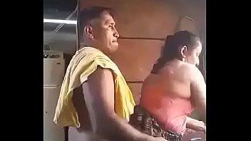 insane senior duo in kitchen
