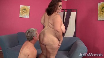 ample breasted mature plumper damsel lynn gets her.