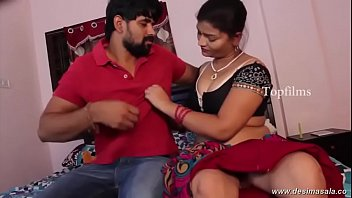 desimasalaco - sashi aunty tit grip and enticing.