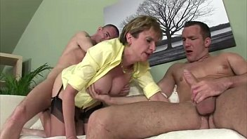 massive melons dame sonia gets dual.