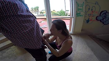 real first-ever-timer livecam from an outdoor blow-job go.